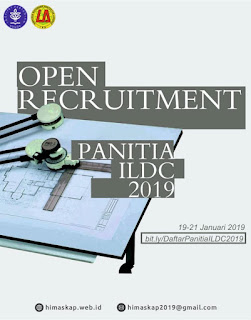 [OPEN RECRUITMENT PANITA ILDC 2019]