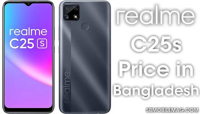 Realme C25s, Realme C25s Price, Realme C25s Price in Bangladesh