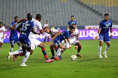 ملخص واهداف مباراة الزمالك وسموحة (3-3) الدوري المصري
