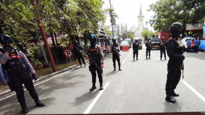 Terungkap! Bomber Gereja Katedral Makassar Akhirnya Teridentifikasi, Inisialnya L
