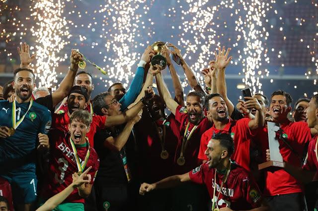 بطل كأس أمم إفريقيا للاعبين المحليين