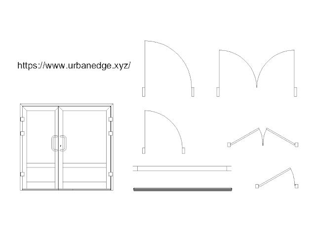 Door and Window dynamic cad blocks free download - 5+ free cad blocks