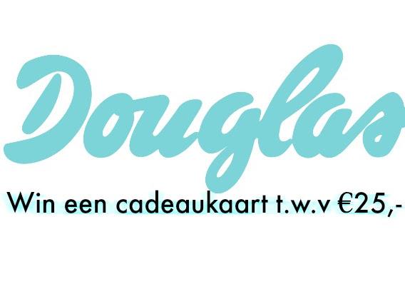 Win een Douglas cadeaukaart t.w.v €25,-