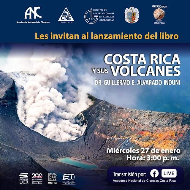 """Lanzamiento del libro: """"Costa Rica y sus Volcanes"""""""