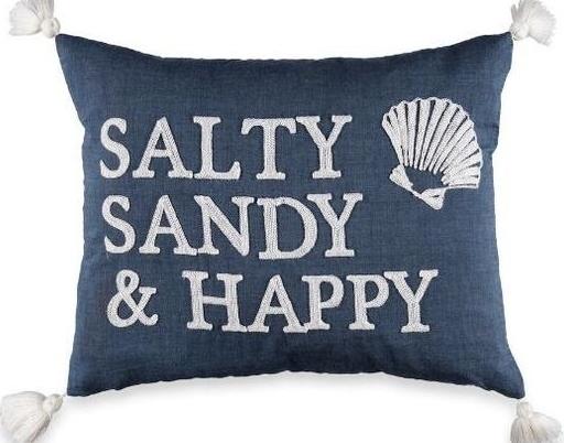 Happy Beach Pillow