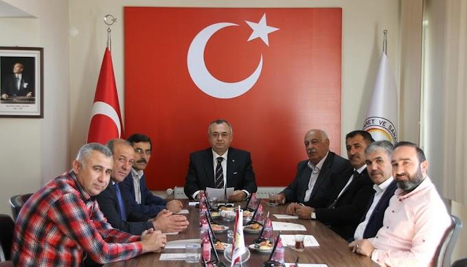 TURHAL'DAKİ SİVİL TOPLUM KURULUŞLARINDAN BARIŞ PINARI HAREKATI'NA DESTEK