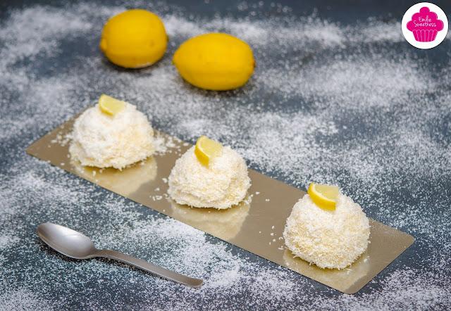 Merveilleux citron-coco : un dessert meringué avec du lemon curd et de la noix de coco
