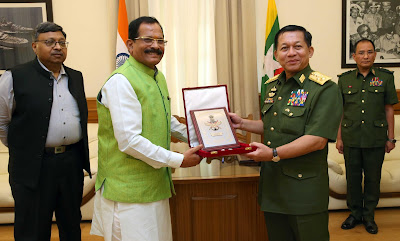 India and Myanmar Sign Mou on Defence Co-Operation