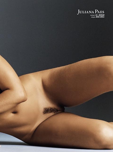 Fotos de Juliana Paes nua pelada na Playboy