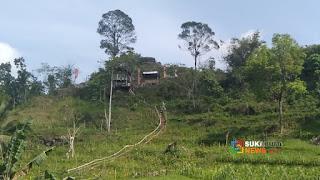 Gunung Bulistir di Desa Talaga Murni