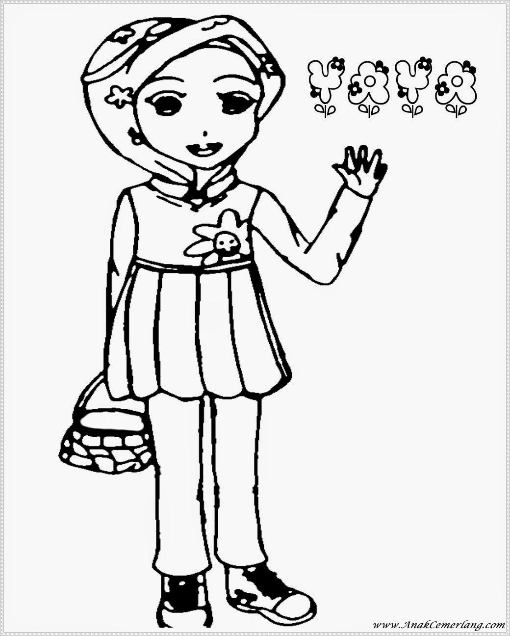 Mewarnai Gambar Boboiboy Bagian 1 Anak Cemerlang