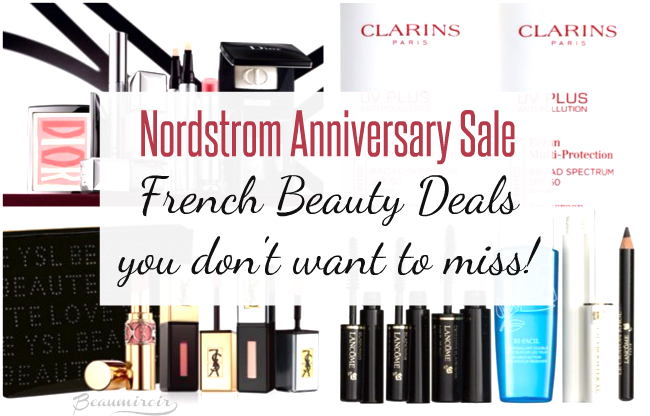 French beauty skincare makeup sale nordstrom anniversary deals discount