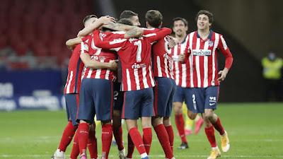 ترتيب الدوري الاسباني قبل بدء الجولة 19