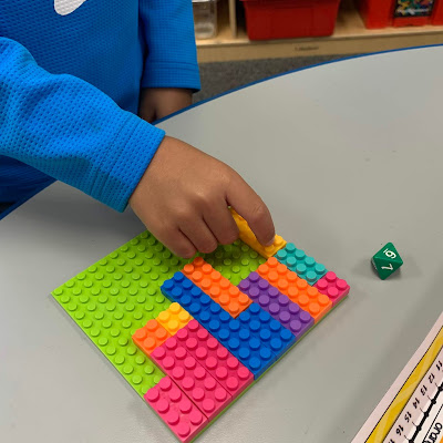 LEGO in Math Stations
