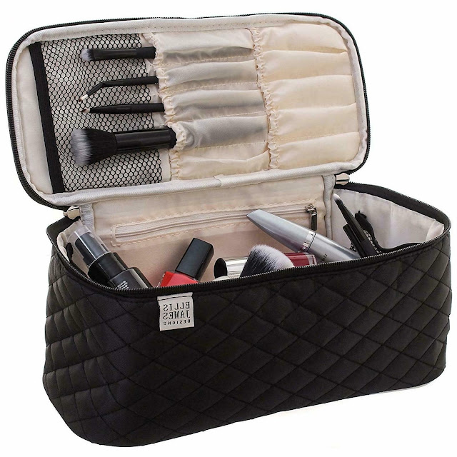makeup bag organization