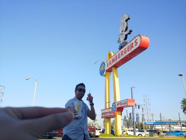 34. Oldest McDonald's hamburger drive-up in Los Angeles