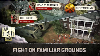 Download The Walking Dead No Man's Land v1.8.3.1 Apk + Data