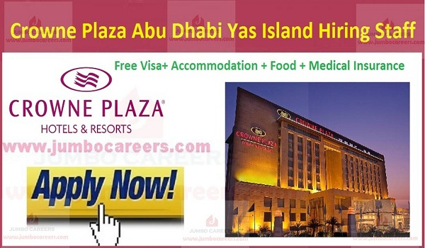 New jobs in Gulf countries, Free visa jobs in Abu Dhabi,