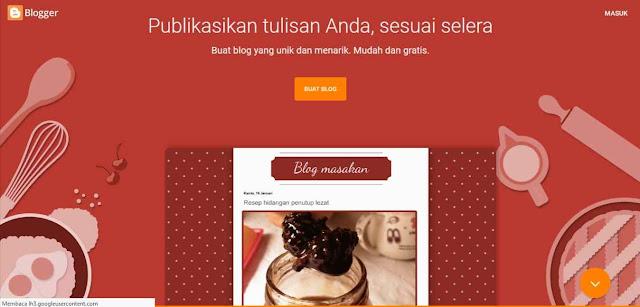Penyedia layanan pembuatan website gratis