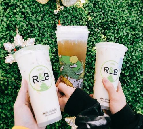 Mar. 3 | BOGO Free Cheese and Tiramisu Cream Boba Drinks @ R&B Tea - Westminster