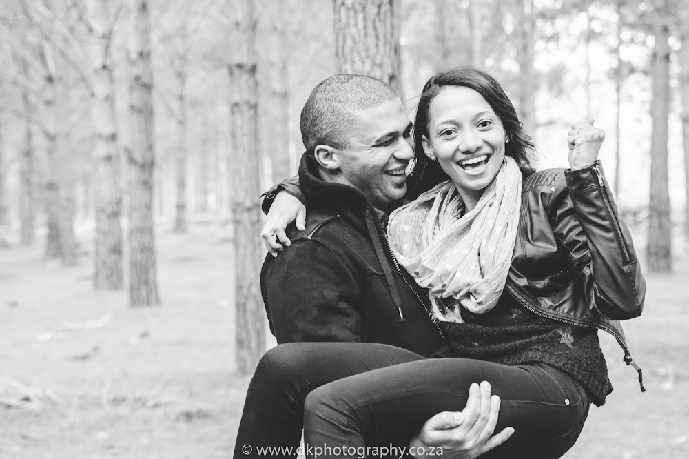 DK Photography CCD_9209 Preview ~ Lucy & Taschwill's Engagement Shoot in Tokai Forest  Cape Town Wedding photographer