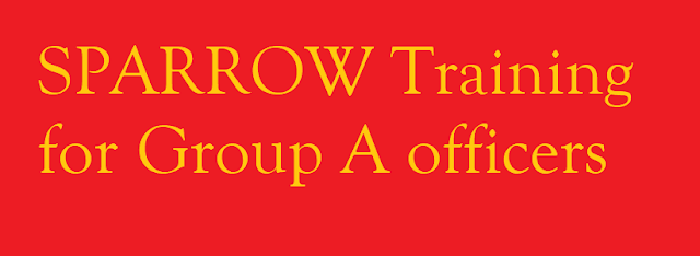 SPARROW Training for Group A officers