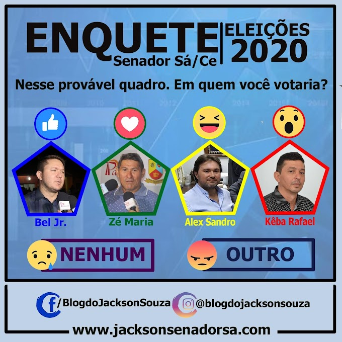 Enquete: Eleições 2020 - Participe!!