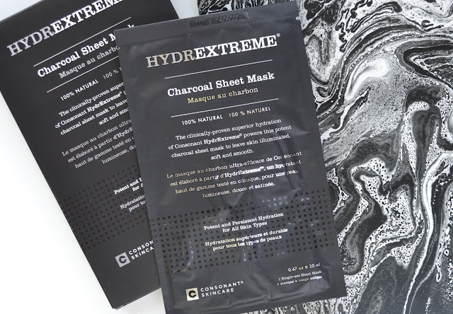 Consonant HydrExtreme Charcoal Sheet Mask Review