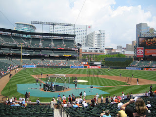 Home to center, Oriole Park at Camden Yards