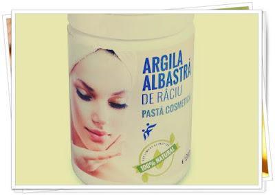 masca argila albastra beneficii acnee cosuri