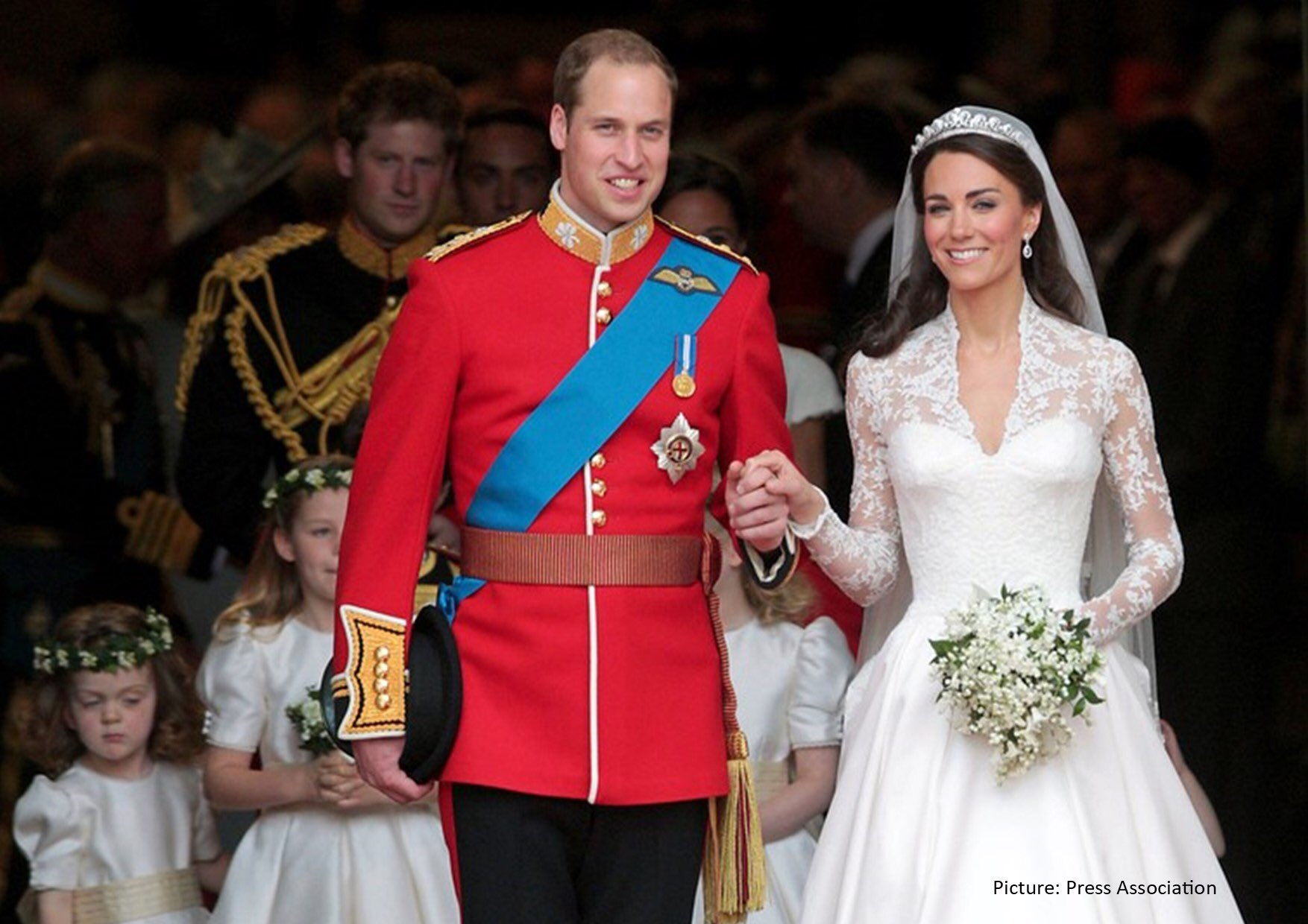 The Duke and Duchess of Cambridge will be marking their 10th Wedding anniversary this Thursday