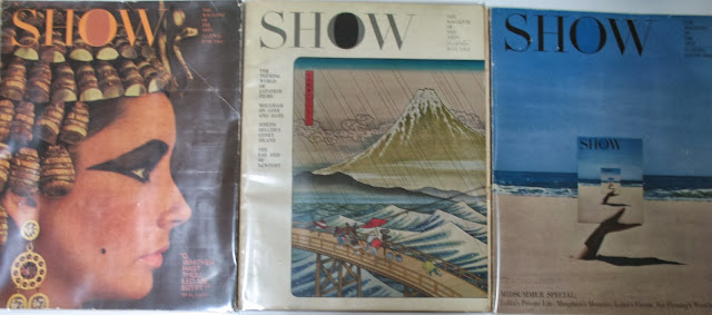 Show Magazine July to August 1962 Looking Back - W. Somerset Maugham