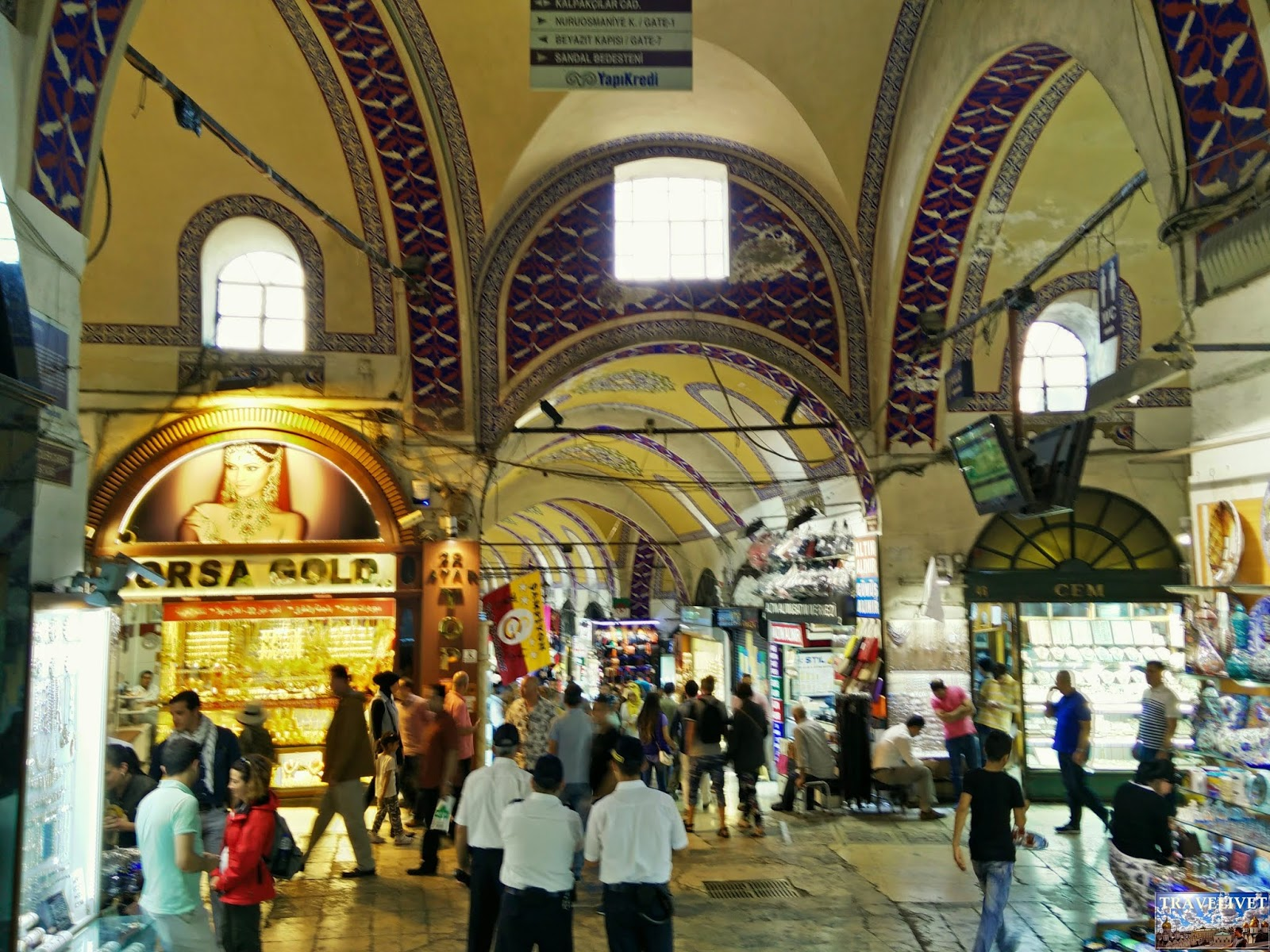 Turquie Istanbul Grand Bazar