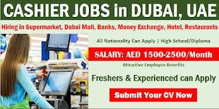Restaurant Cashier Job Recruitment For Dubai Location