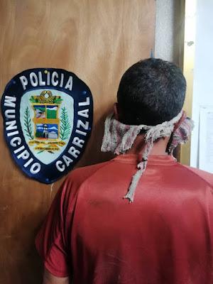 Policarrizal pone tras las rejas a hombre por golpear a su hija