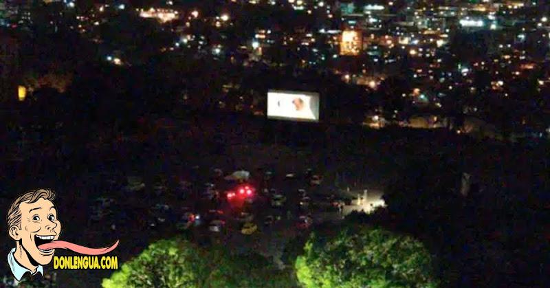 Primera función de CINEX al aire libre fue suspendida por la policía