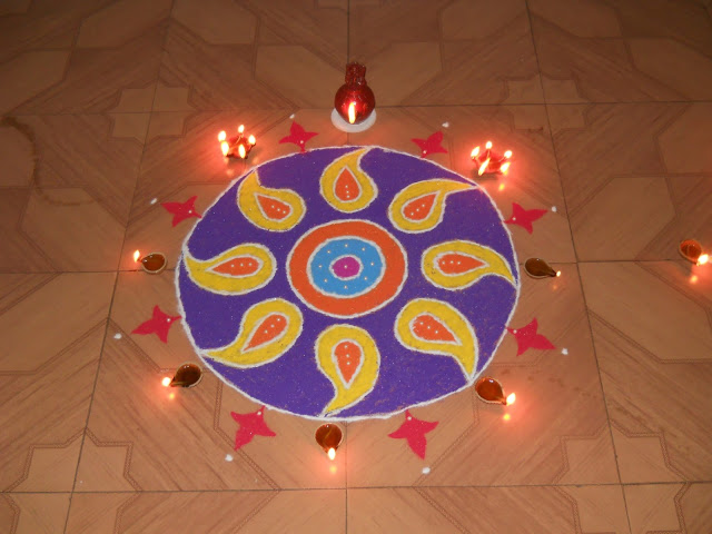 rangoli designs for new year 2021
