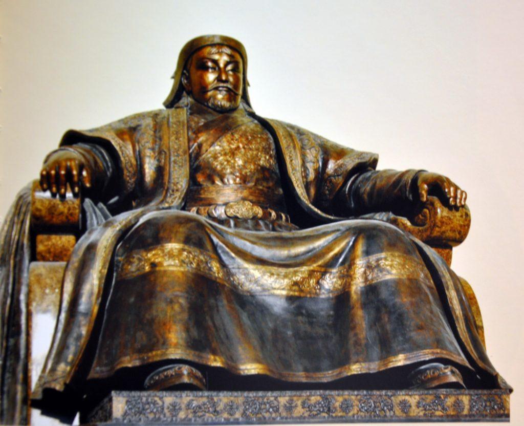 Genghis Khan fait l'Amérique