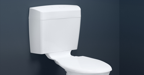 How to repair a leaking caroma dual flush toilet by changing the.
