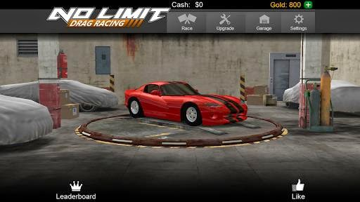 لعبة No Limit Drag Racing