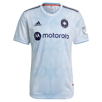 Chicago Fire 2021 Away Kits