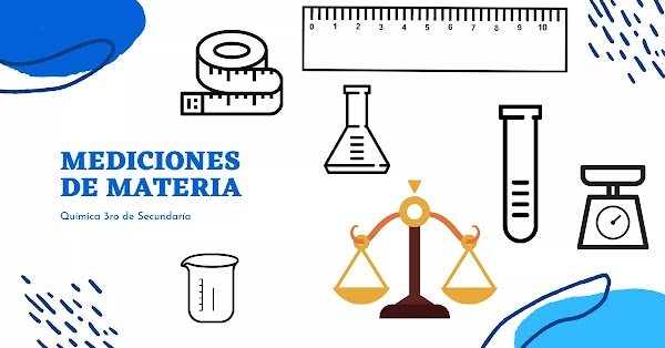 ▷ Mediciones de materia - Química