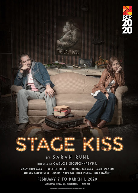 Repertory Philippines STAGE KISS