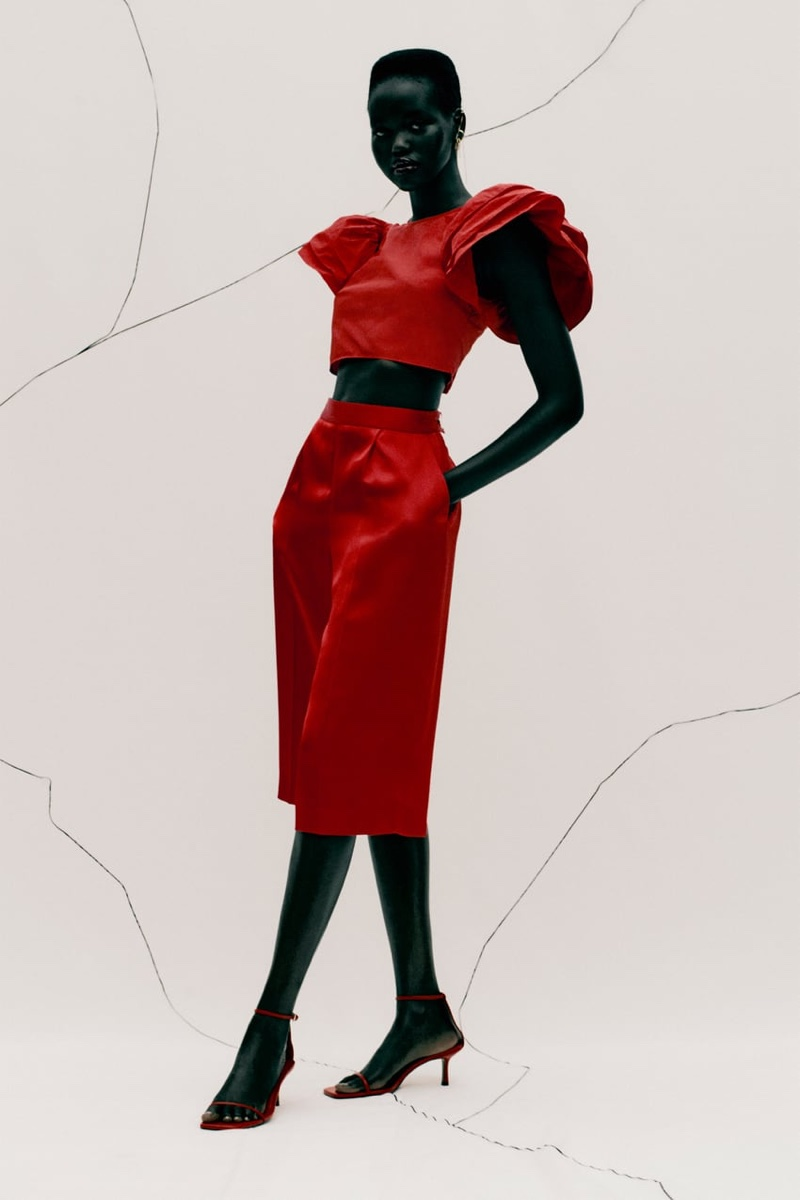 ZARA RED OUTFITS FOR FALL 2020