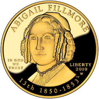 US Gold Coins Abigail Fillmore 2010 10 Dollars First Spouse Gold Coin