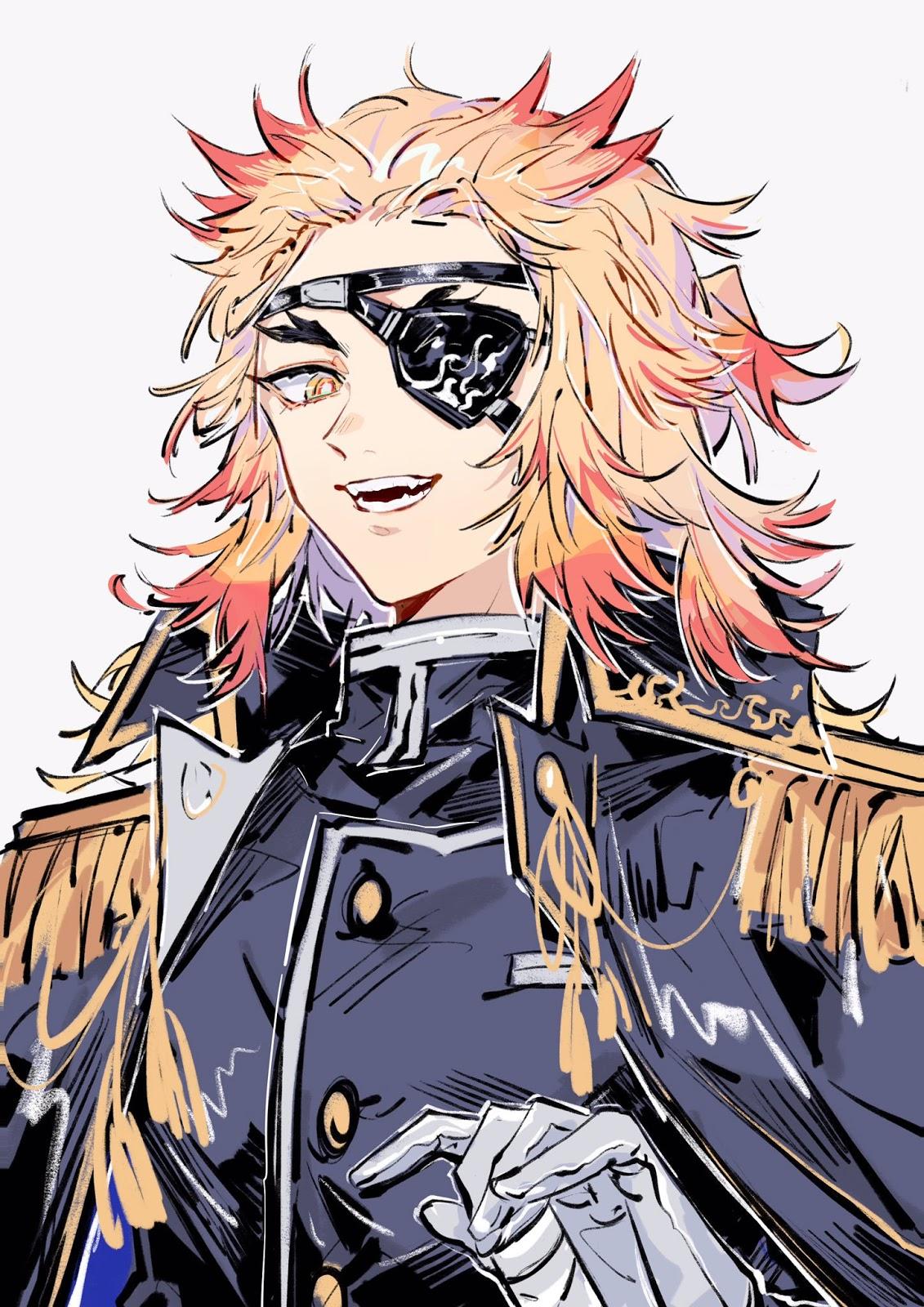 Fan Art Kimetsu No Yaiba military uniform - BlogfanArt