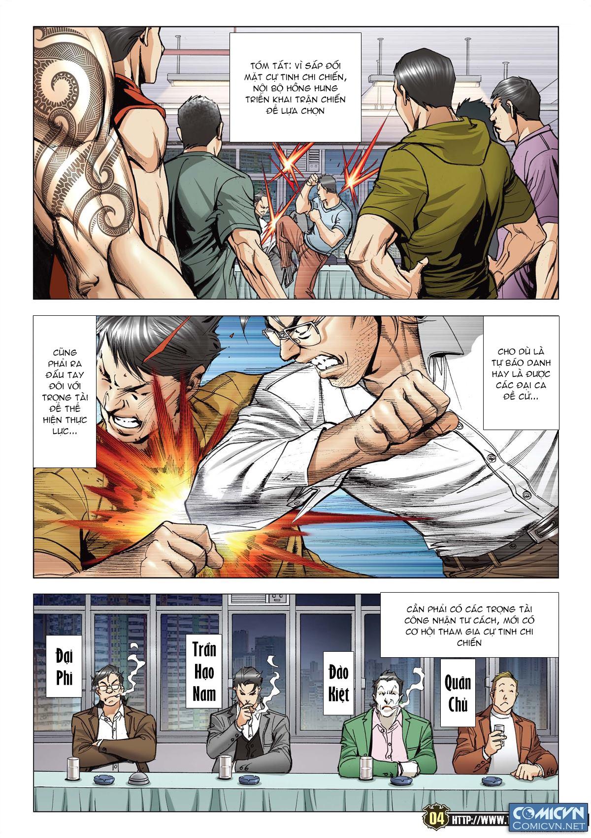 Người Trong Giang Hồ chapter 2119: nam ca vs thượng võ trang 3