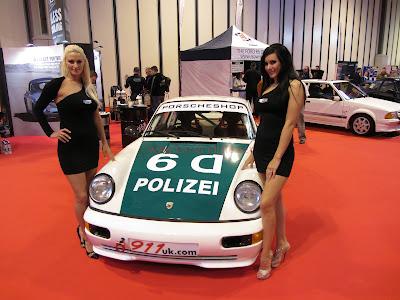 Porsche Club UK at Autosport International 2013 with The Models