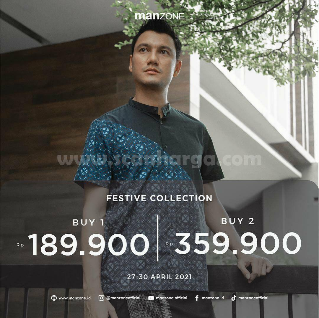 Promo Manzone Festive Collection Buy 1 Rp 189.900 Buy 2 Rp 359.900