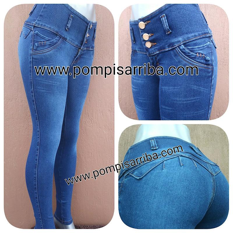 Pantalon Corte Colombiano de Mayoreo Pompis Arriba Jeans